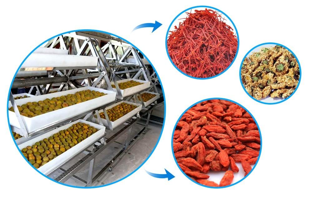 عملية مجفف الفراغ الصناعي  (1)