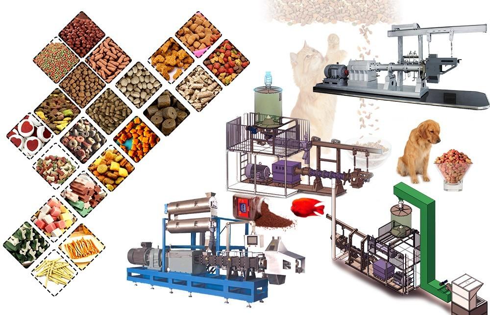 تصميم آلة بثق أغذية الحيوانات الأليفة (1)