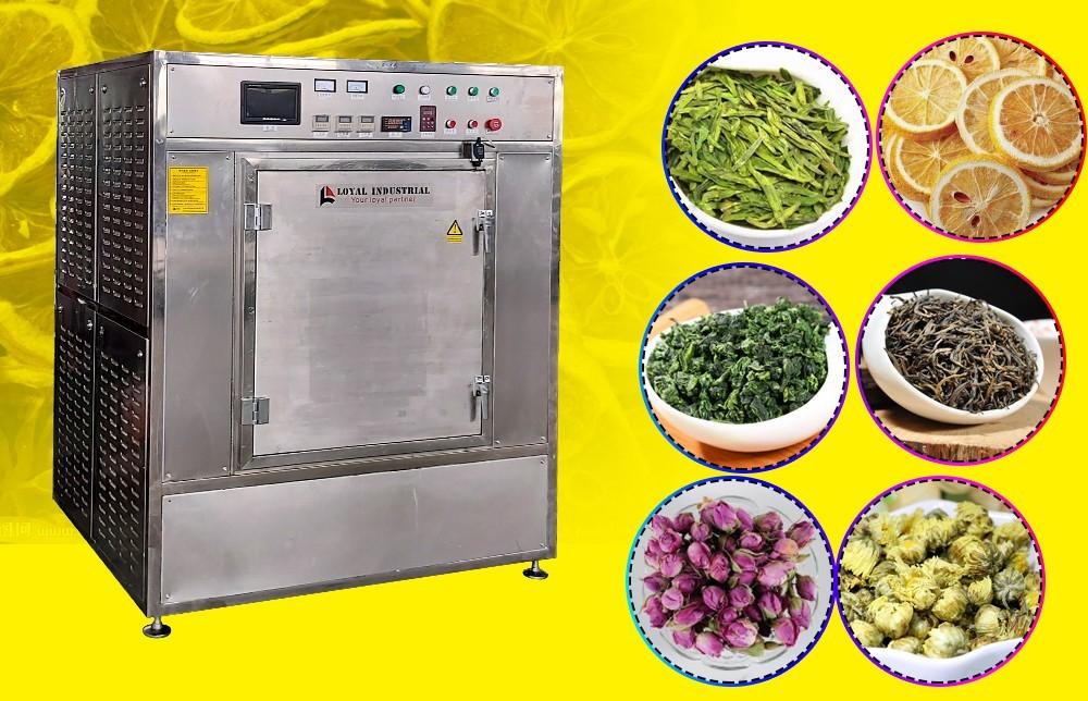 عملية آلة تجفيف الأعشاب الصناعية (3)