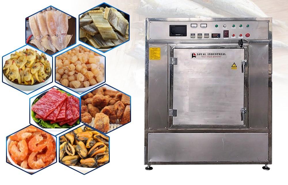 عملية آلة مجفف الخضار الصناعية (6)