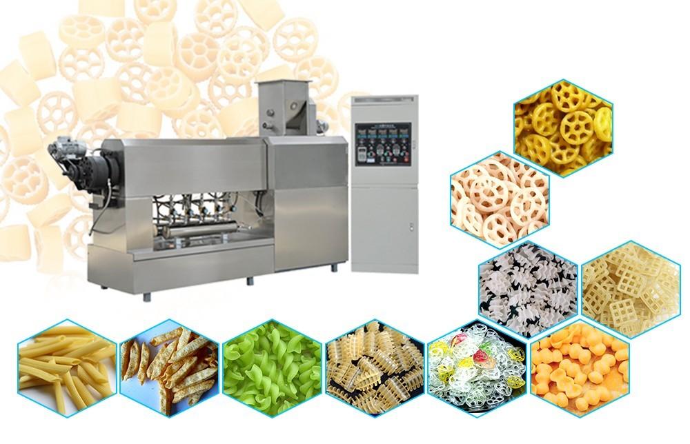عملية تجهيز الأغذية الطارد برغي واحد (1)