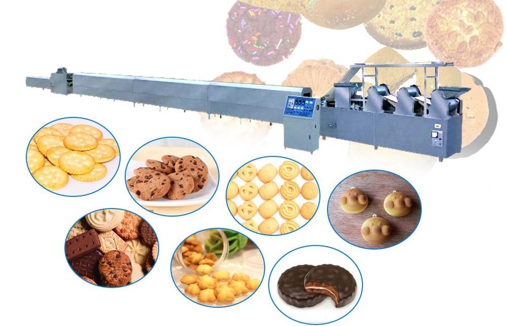 آلات صنع البسكويت الأوتوماتيكية بالكامل السعر (3)