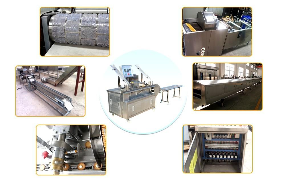 آلات صنع البسكويت الأوتوماتيكية بالكامل السعر (2)