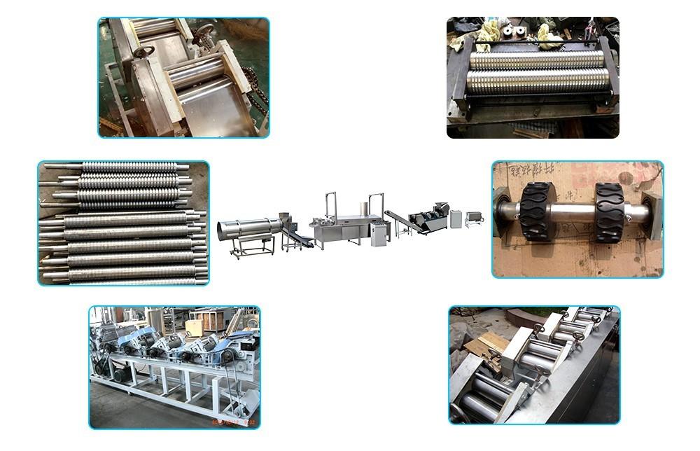 عملية آلة الوجبات الخفيفة العجين المقلي (1)