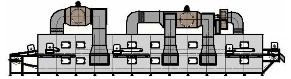 سعر آلة مجفف رقائق بيليه الصناعية (1)