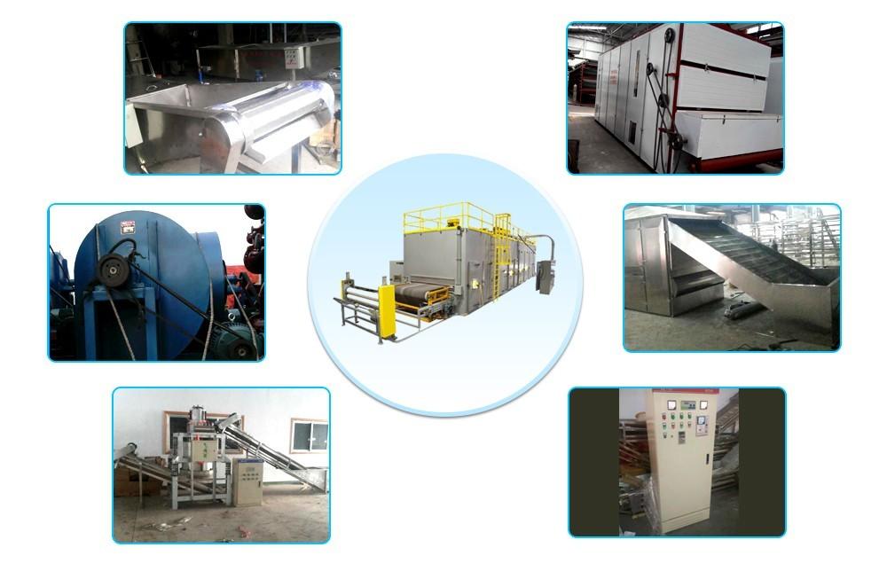 عملية مجفف الحزام الناقل الصناعي (8)