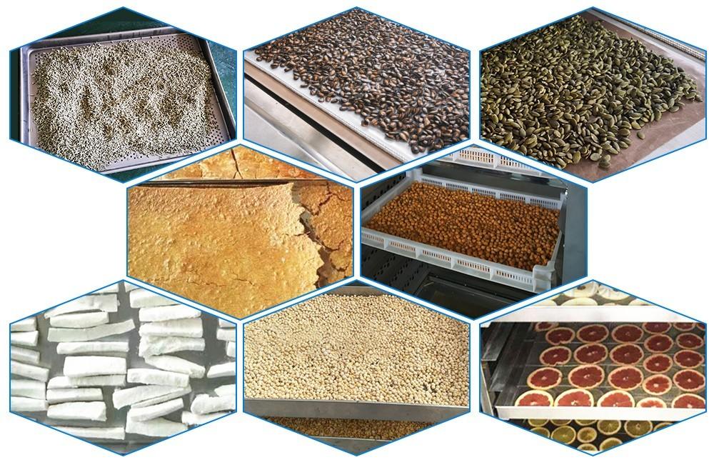 عملية آلة مجفف الطعام الصناعي (2)