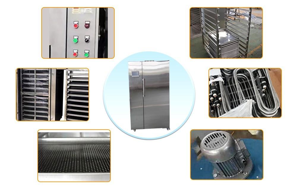 عملية آلة مجفف الهواء الساخن الصناعية (2)