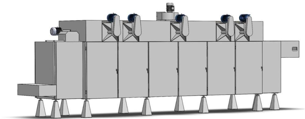 سعر آلة مجفف رقائق بيليه الصناعية (5)