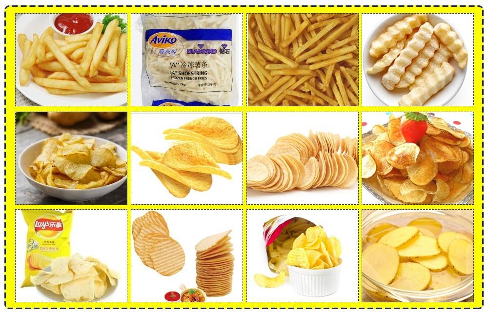 سعر خط إنتاج رقائق البطاطس الأوتوماتيكي (4)