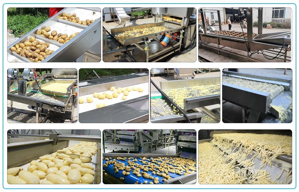 سعر خط إنتاج رقائق البطاطس الأوتوماتيكي (2)