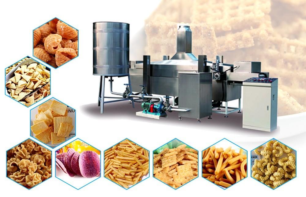 سعر أنظمة آلة المقلاة العميقة الصناعية (4)