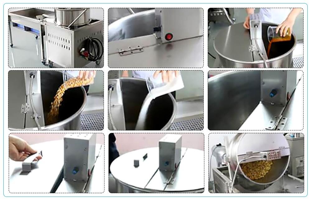 أسعار آلات صنع بوبر الفشار الصناعية (3)