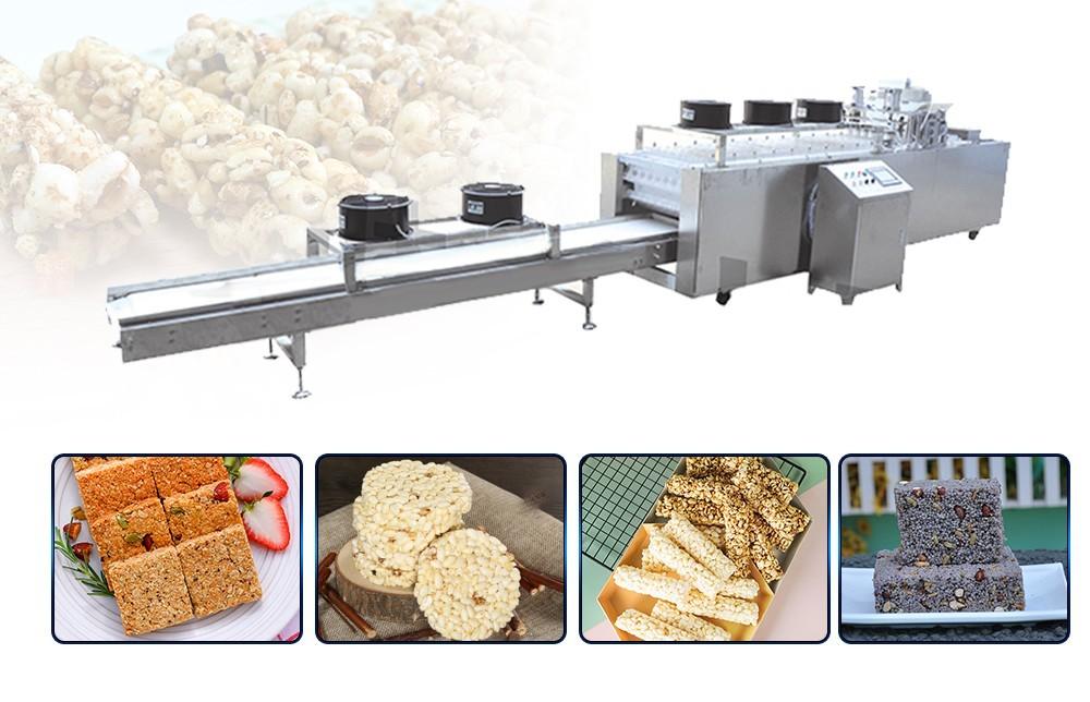 عملية خط إنتاج شريط الحبوب (4)