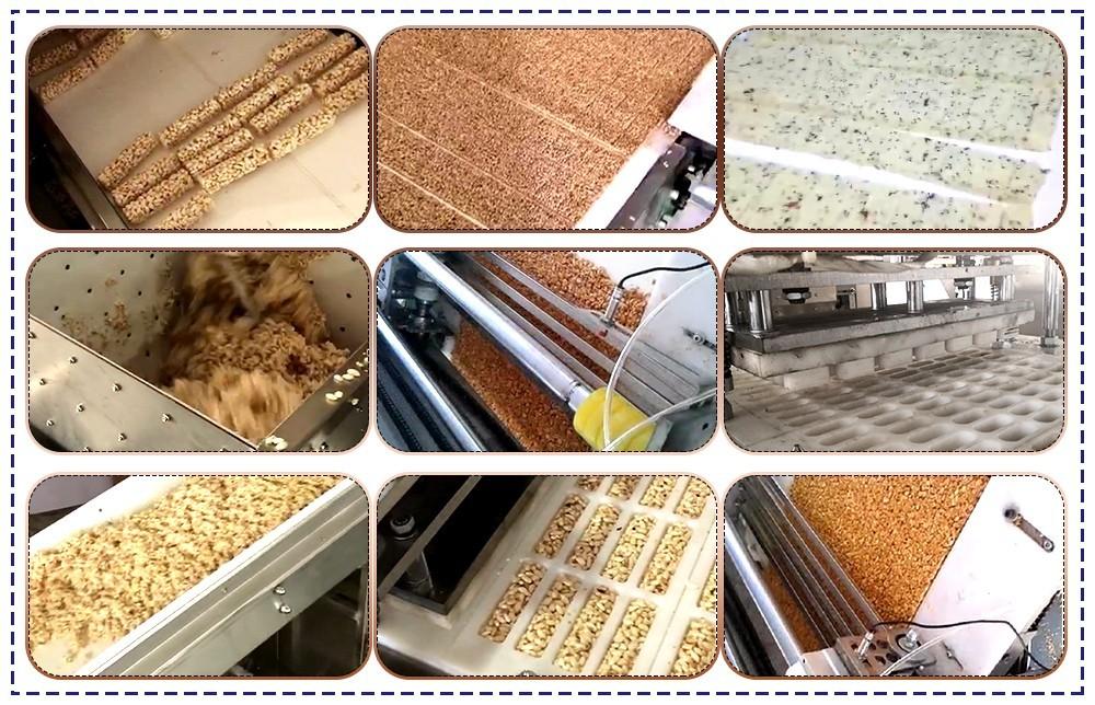 عملية خط إنتاج شريط الحبوب (2)