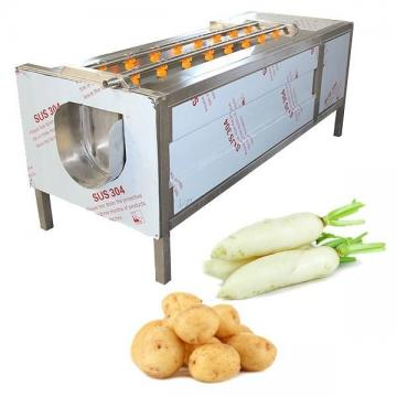 آلة غسل فرشاة الخضروات